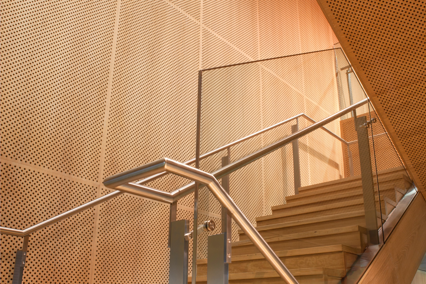 ANZ Docklands stair auditorium created by ISM Interiors