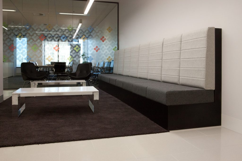 The Connective joinery fit out by ISM Interiors