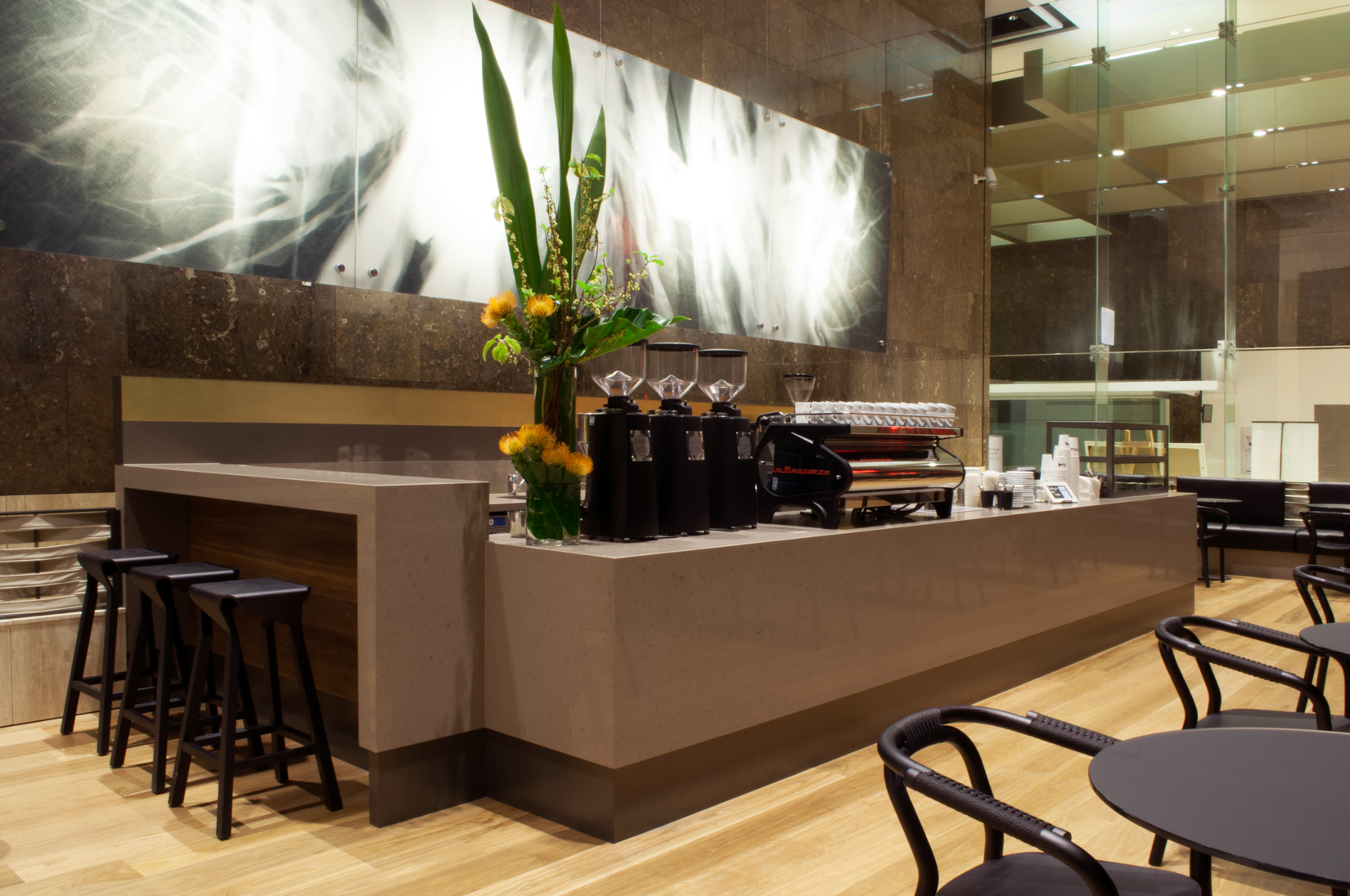 Dexus joinery fit out by ISM Interiors