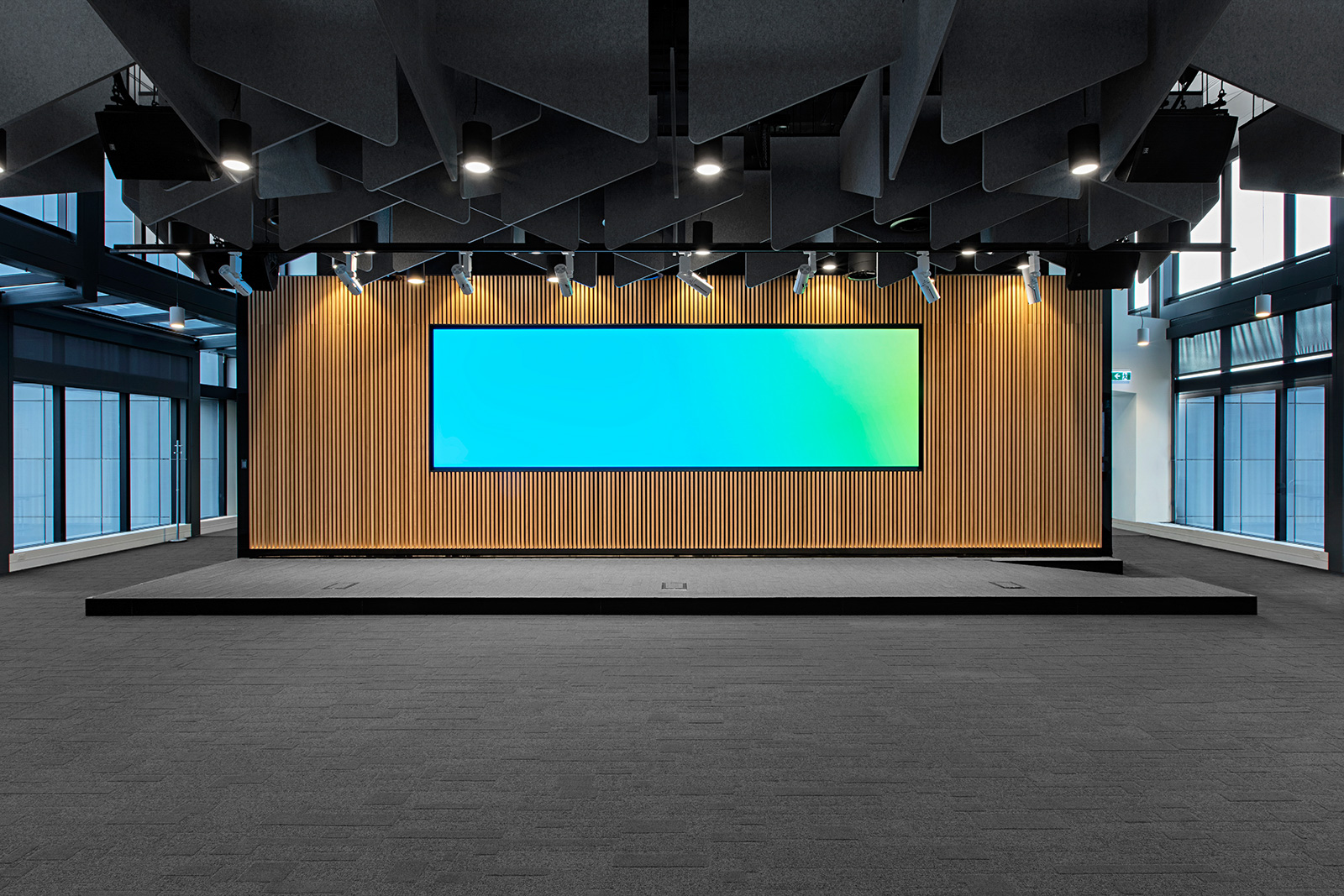 ISM created custom joinery for the Customer Insight Centre on level 1 of the Telstra 424 Exhibition Street Building.